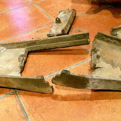 El exceso de calor deforma y rompe las piezas