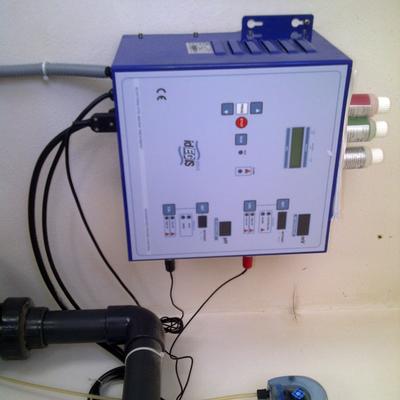 electrolisis salina con bomba de ph