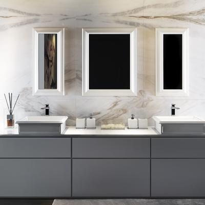 Elegante mueble de baño de Karol