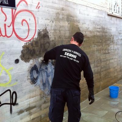 Eliminaciòn  de graffitis