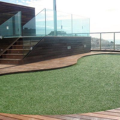 Terraza golf.