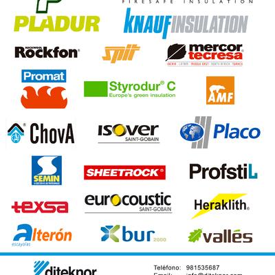 En Diteknor comercializamos un amplio catálogo de marcas