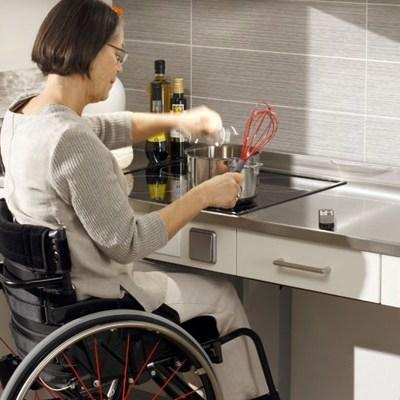 Muebles de cocina adaptados