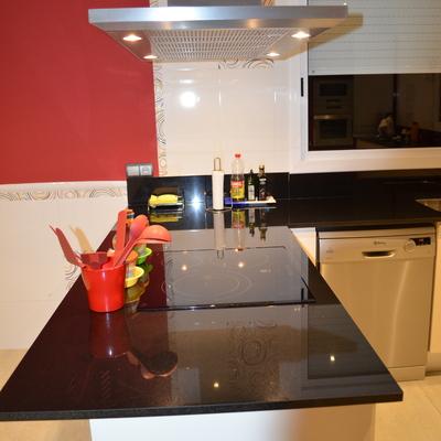 encimera cocina negro Absoluto, 2 cm