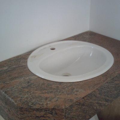 Encimera de baño clásica