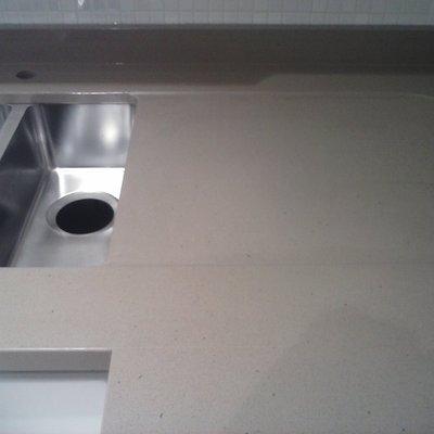 Encimera de cocina en Silestone