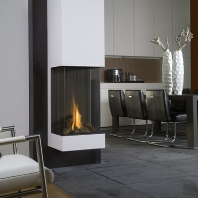 CHIMENEA DE GAS BELLFIRES MODELO VIEW BELL VERTICAL