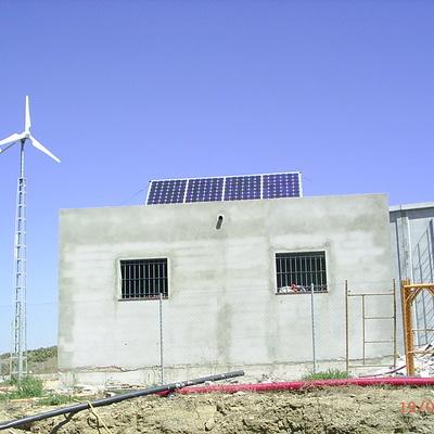 Energia SOLAR - EOLICA en El Palmar