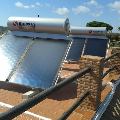 ENERGIA SOLAR TERMICA, AGUA CALIENTE.