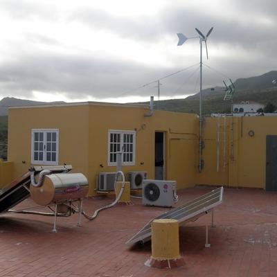 Energías renovables en vivienda.