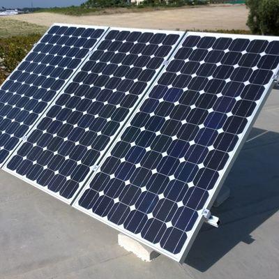 Sistema solar fotovoltaico fin de semana