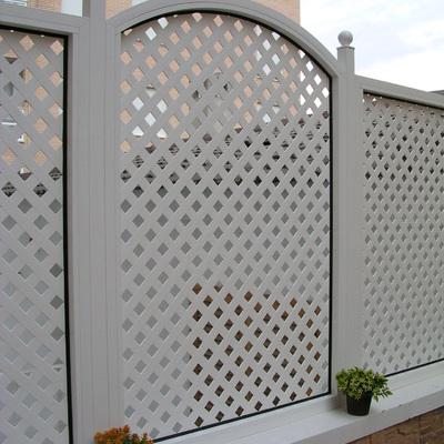 Celosia de PVC y Aluminio