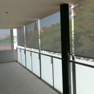 cortina enrollable exterior