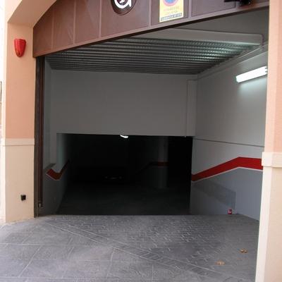 Entrada a Garaje