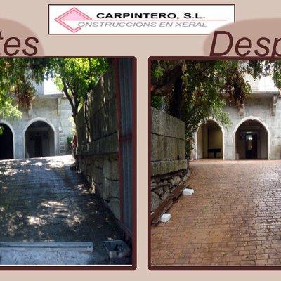 Entrada a vivienda en Cortegada, Ourense