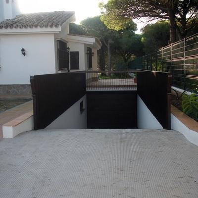 ENTRADA DE SOTANO DE GARAJE
