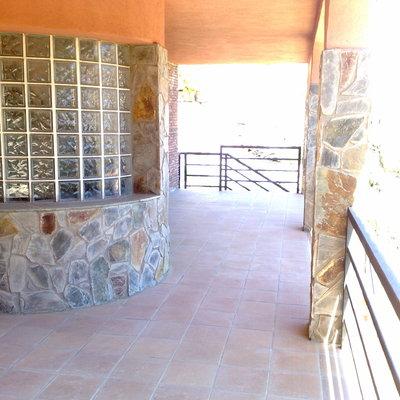 exterior terraza escalera