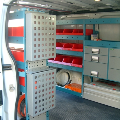 Equipamiento furgoneta