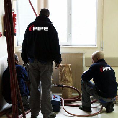 Equipo técnico ePIPE trabajando