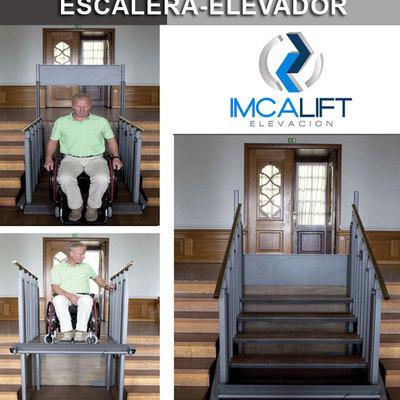 Escalera convertible en Elevador