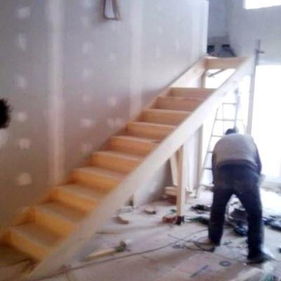 Como Hacer Una Escalera Flotante. Las Escaleras De Madera Tienden A ...
