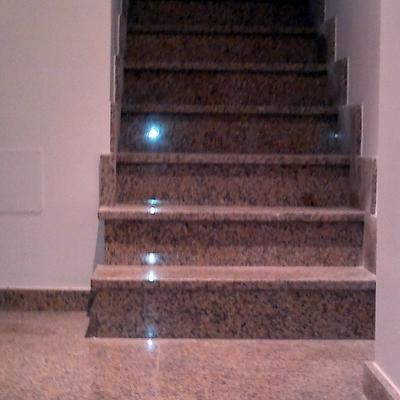 escalera marmol