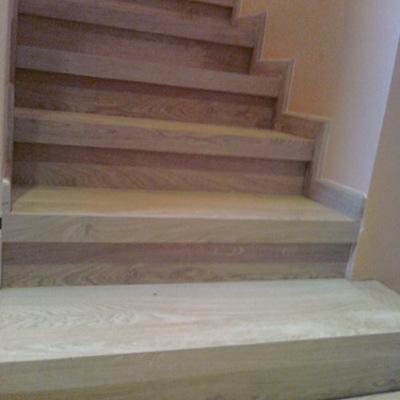 Presupuesto construir escalera de parquet en cantabria - Colocar parquet laminado ...