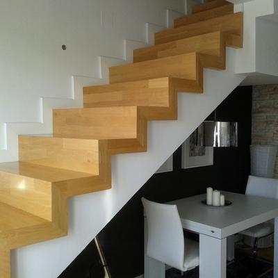 Escaleras perfectas sin accesorios.