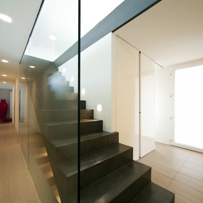 Escaleras y corredera