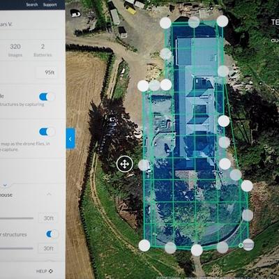 Mapping 2D & 3D de parcelas y edificios