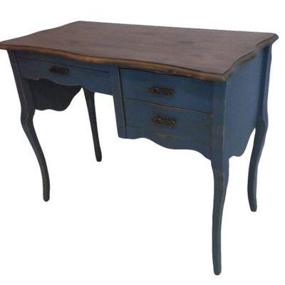 escritorio madera sin pintar o pintado