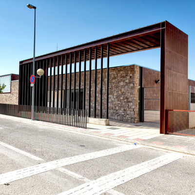 Escuela municipal en La Fatarella (Tarragona)