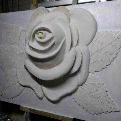 Escultura para muros en Decoración