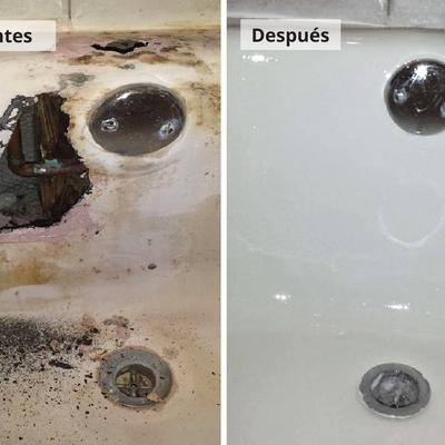 Restauración bañera