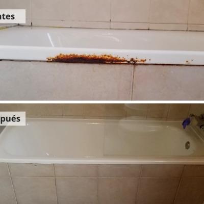 Esmaltado de bañera