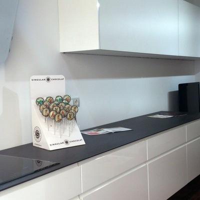 espacio cocina-salón