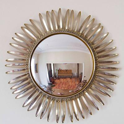 Espejo Sol de Metal