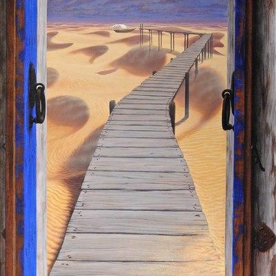 Puerta pintada, Las esperanzas 01