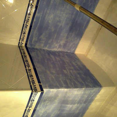 esponjeado en baño
