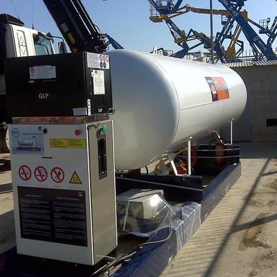 Estaciones de servicio a gas propano