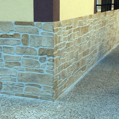 Estampados de piedra artificial