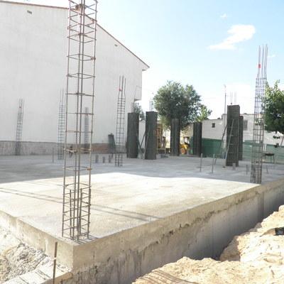 Estructura de hormigón en Iniesta