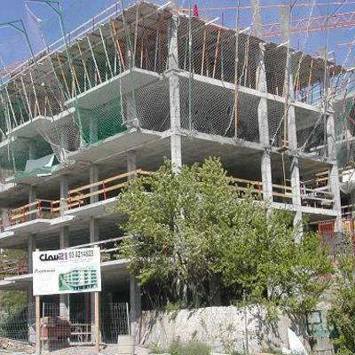 Estructura de l'edifici Feixa de Palau a Berga