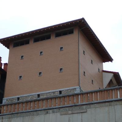 Estructura de madera laminada