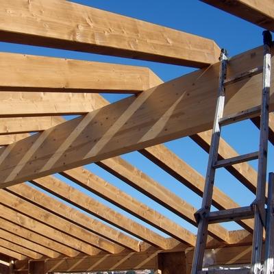 Presupuesto estructura tejado online habitissimo for Tejados madera ourense