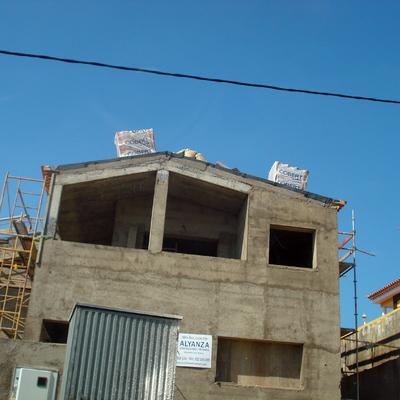 Estructura de vivienda unifamiliar
