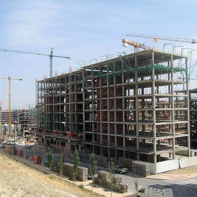 estructura para particular ,edificio grande