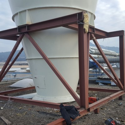 Estructura para silo