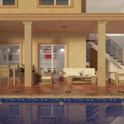 proyecto de vivienda estilo clasico