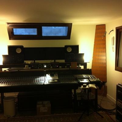 Estudio de grabación Álamo Shock